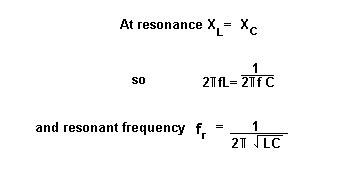 dynamic resistance in parallel resonance parallel resonance in ac circuits tutorial phasors and resonance tutorials electronic hobby