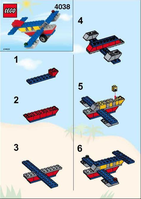 printable lego directions lego fun flyer instructions 4038 basic