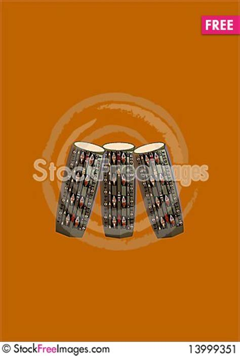 pattern beatbox bongo drum african bongo drums with pattern free stock photos
