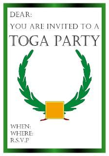 toga invitation template toga invitations cimvitation