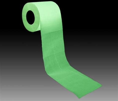 How To Make Glow In The Toilet Paper - glow in the loo roll iwoot