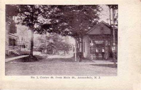 Annandale Post Office by Historic Images Of Hunterdon County Annandale