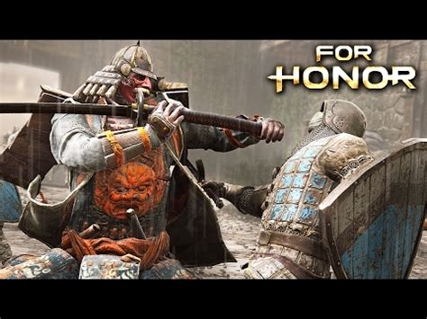 For Honor Giveaway - vote no on onor multiplayer gameplay nobushi samurai gam