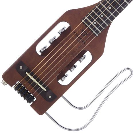 traveler guitar ultra light acoustic electric guitar traveler guitar ulst brn ultra light acoustic electric