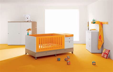 Boys Bedroom Decorating Ideas orange baby crib design ideas
