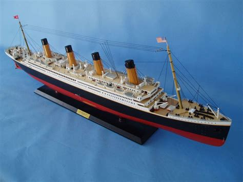 titanic model boat for sale buy ready to run remote control rms titanic limited 40