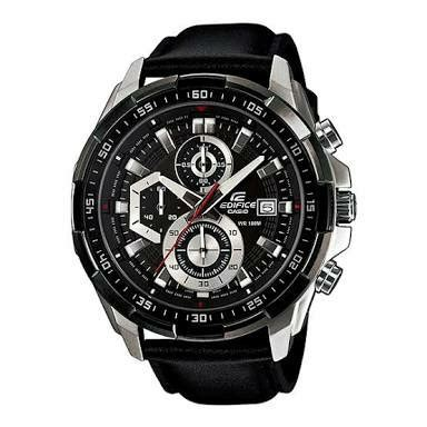 Jam Tangan Edifice 86 jual beli jam tangan casio edifice black leather ori