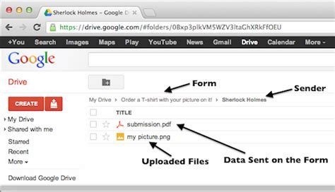 drive google upload how to integrate a form with google drive jotform