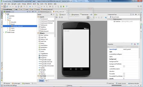 android studio review belajar android studio dengan membuat aplikasi android the knownledge