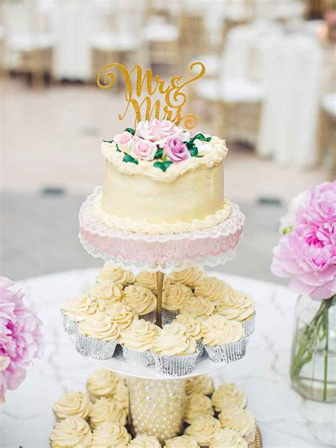 Wedding Cake With Cupcakes by 16 Wedding Cake Ideas With Cupcakes