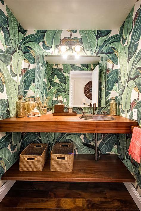 tropical bathroom accessories summer bathroom decorating ideasbetterdecoratingbible