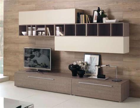 dwg arredi pareti attrezzate moderne 2d mobili per soggiorno