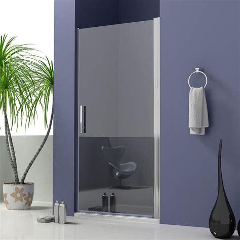 Frameless Pivot Shower Door Walk In Glass Screen Shower Door Uk