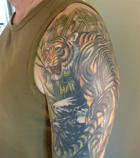 tiger tattoo sleeve the gallery for gt japanese tiger arm