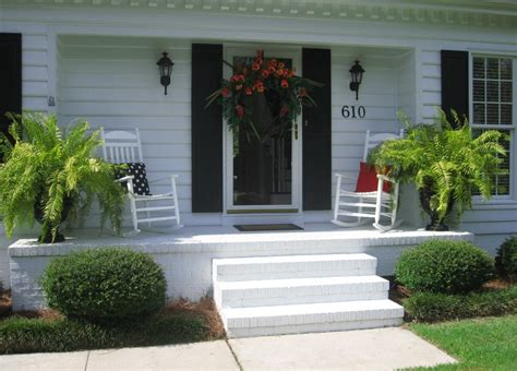 front porch rocking chairs for decoration