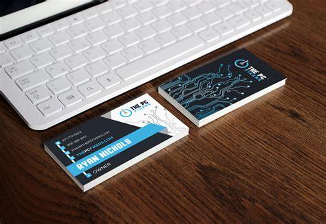 Free Business Card Templates Computer Repair by Free Business Cards Computer Repair Gallery Card Design