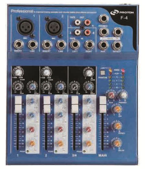 Mixer Nx Audio nx audio f4 live mixer buy nx audio f4 live mixer at best price in india on snapdeal