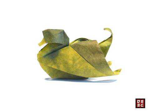 How To Make An Origami Duck - origami duck by origamikuenstler on deviantart