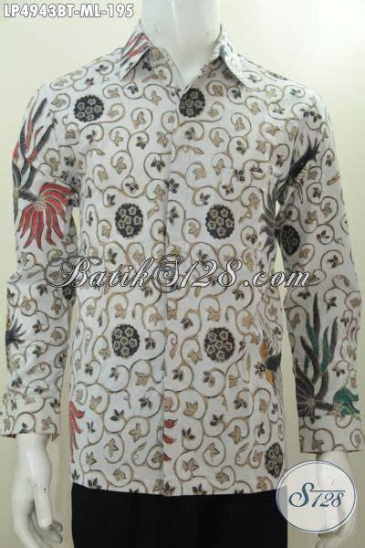 desain baju panjang keren baju kemeja lengan panjang motif keren buatan solo busana