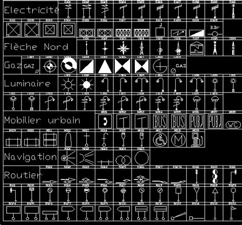 libreria dwg gratis biblioteca de simbolos en autocad descargar cad gratis