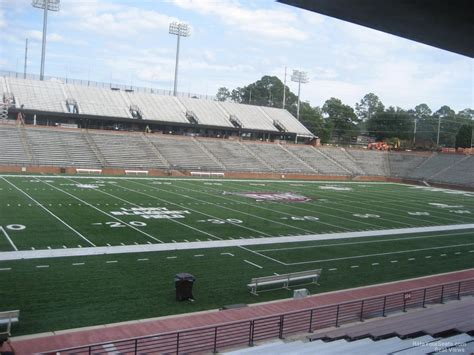 section 8 troy al troy memorial stadium section 102 rateyourseats com