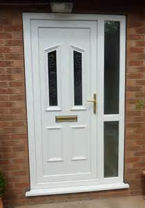 Upvc Front Door And Side Panel Value Doors Scunthorpe