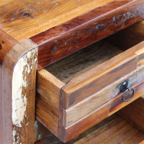 nachtschrank massivholz vidaxl nachtschrank recyceltes massivholz 43x33x51 cm