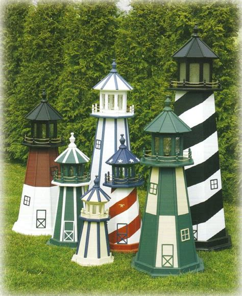 yard and house outside decorations outdoor home center lawn decor lighthouses