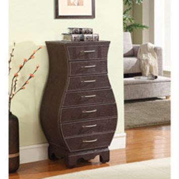 armoire overstock croc 7 drawer wood armoire from overstock furniture