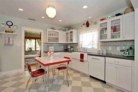 Decor Ideas For Kitchens Kitchen Design Ideas Retro Kitchen