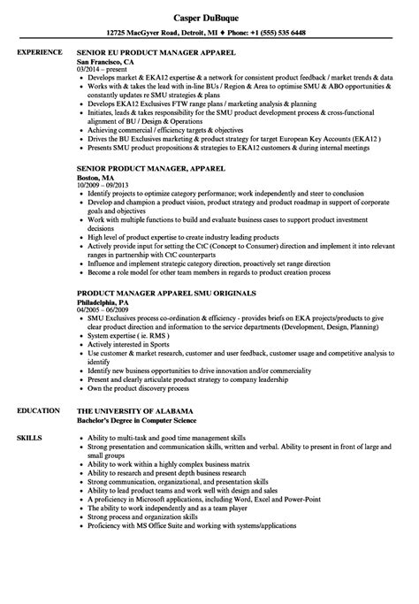 product manager cover letter abcom
