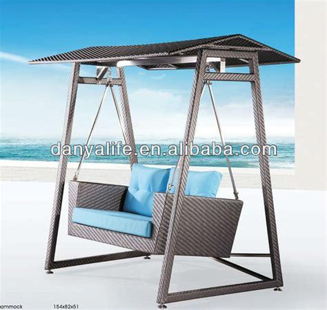 swing d dyhm d1205 rattan wicker hammock outdoor leisure hammock