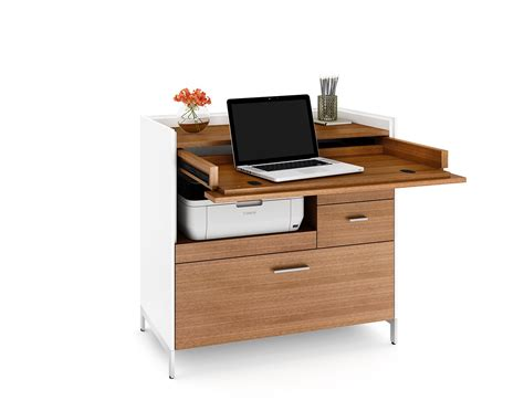 compact desk with storage aspect desk 6231 bdi designer tv stands and cabinets for