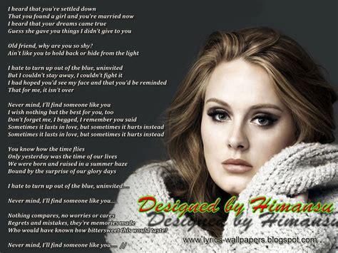 download mp3 adele never mind lyrics wallpapers adele someone like you