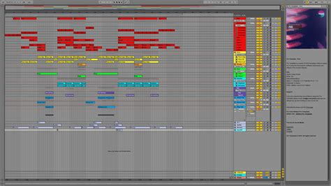 pure ableton live template