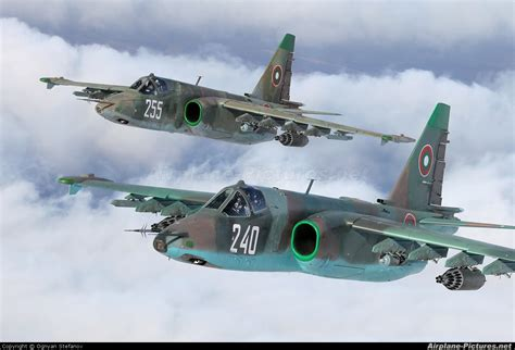 240 bulgaria air force sukhoi su 25k at in flight bulgaria photo id 165361 airplane