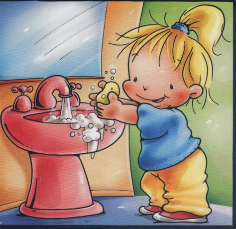 imagenes niños lavandose las manos sweet dream lavarse las manos