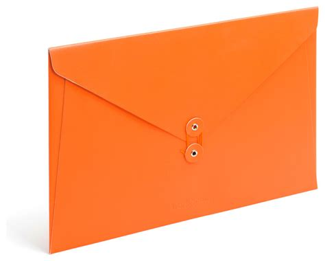orange desk accessories soft cover folio orange modern desk accessories