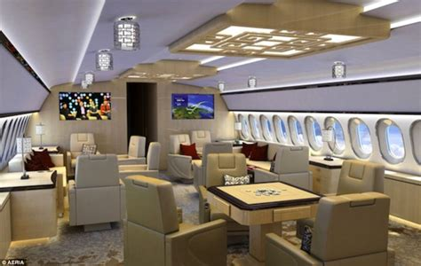 luxury private jets a rare glimpse into the opulent world of super luxury