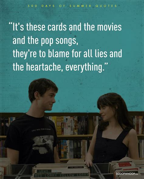 days are 11 realistic 500 days of summer quotes which are the dating bible that we need