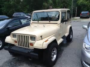 Jeep 1989 Wrangler 1989 Jeep Wrangler Pictures Cargurus