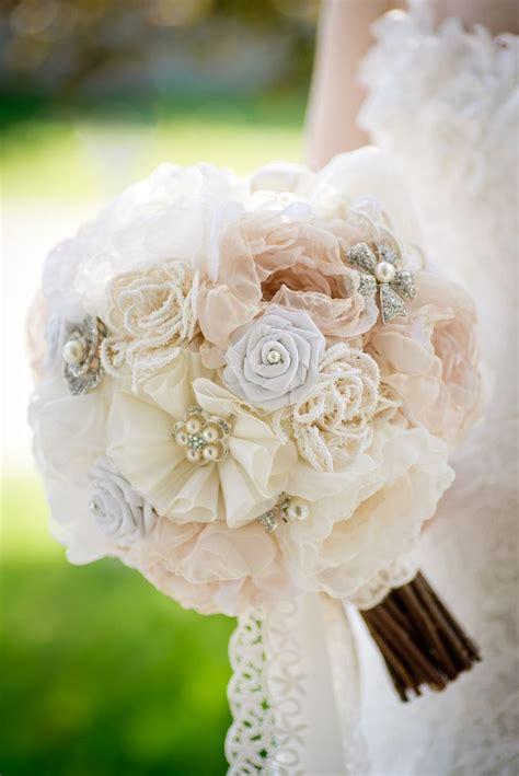 Handmade Flower Bouquet - mlle artsy fabric flower brooch bouquet handmade