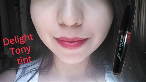 Lipstik Delight Tony Tint tony moly delight tony tint quot 02 quot review rese 241 a