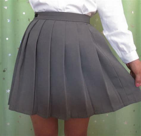 mini skirts japanese school girl uniforms pleated mini skirt japan school girl uniform style