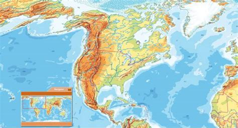america interactive map interactive physical map of the usa floods information