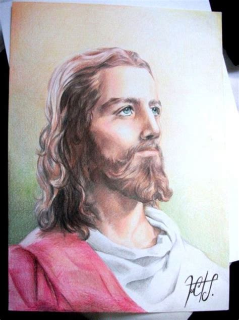 imagenes a lapiz del rostro de jesus dibujos de jesus con lapiz imagui