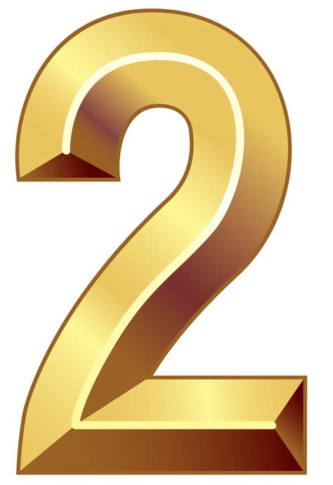 gold color number number clipart gold pencil and in color number clipart gold