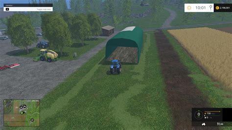 tunel de stockage  mod farming simulator   mod