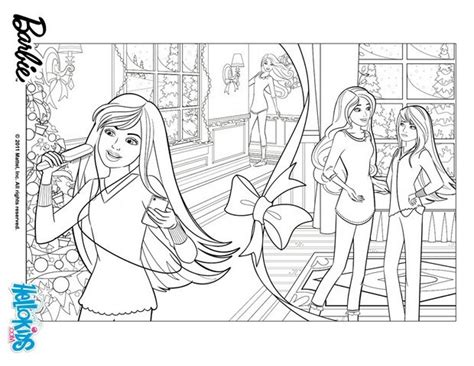 Barbie Perfect Christmas Coloring Page 5 Tpx Coloring Skipper Coloring Pages