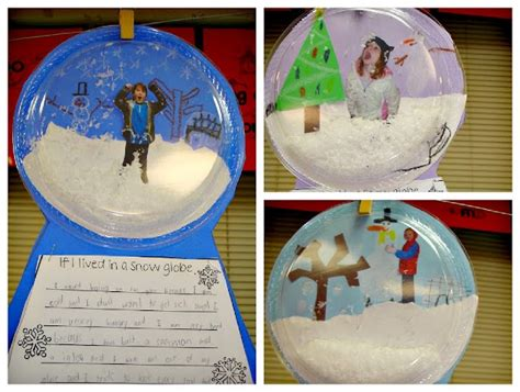 christmas ornaments with photos for third grade make with snowglobe family book for the classroom library lesson plans library